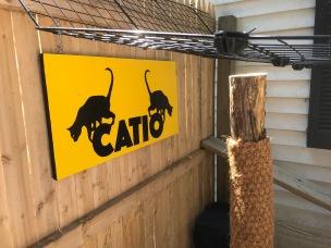 Catio Sign